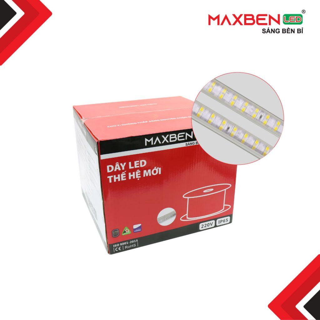 Dây LED Maxben thế hệ mới LD2VN-MB-2835-180P-8220